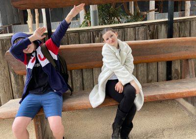 Kids having fun at Hunter Valley Zoo
